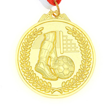 Custom Gold Sports Football Medals of Honor
