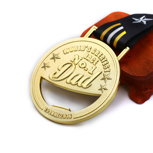 No.1 Custom Cheap Blank Good Ba Ba Medal