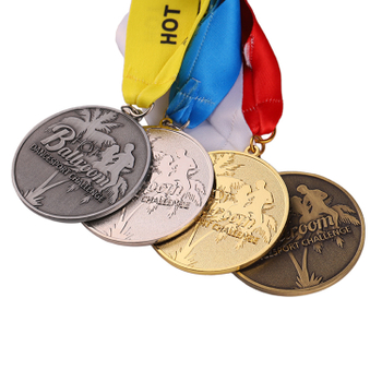 How many types of medals are there?