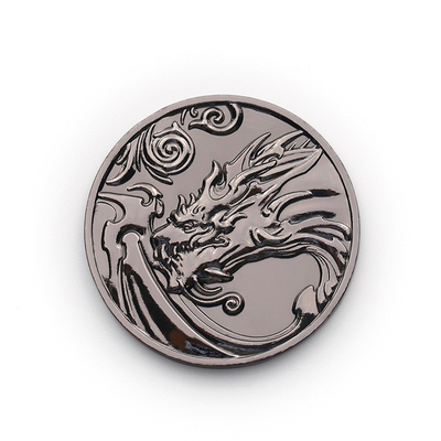 Chinese Dragon Challenge Feng Shui Coin Double Sided Coins