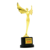 Stock Size Zinc Alloy Material Grammy Metal Award Wrestling Trophy
