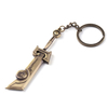 Multitool Metal Sword Keyholder Custom Brass Keyring Plush Keychain