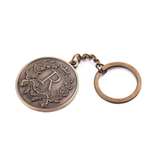 Brass Keyring Couple Key Chain Cheap Keychains in Bulk Customised Keyholder Custom