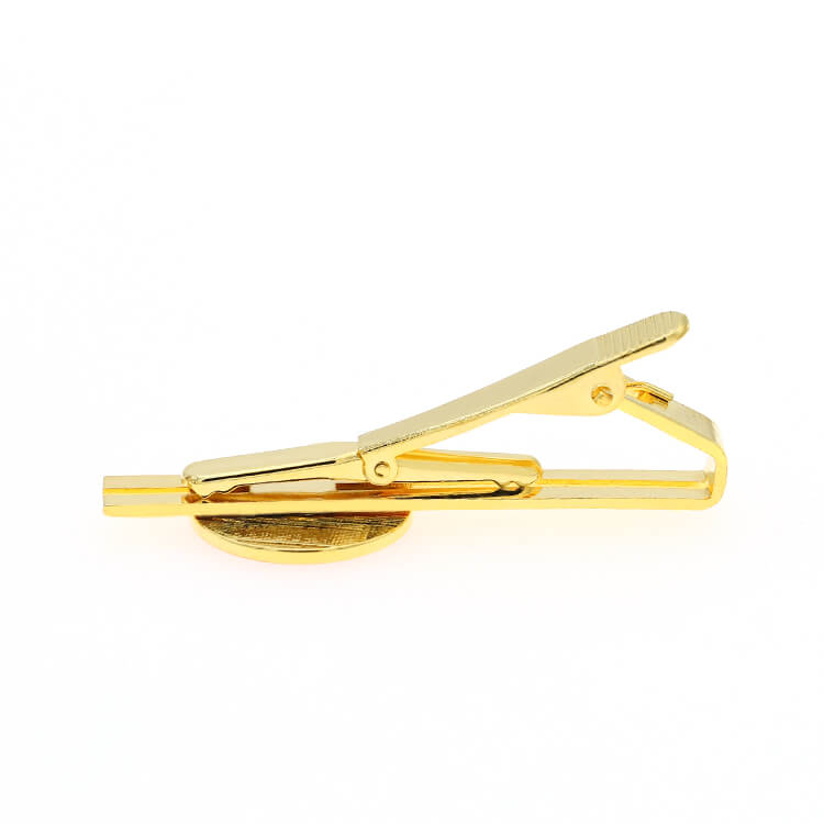 Custom Metal Iron Brass Material Plating Gift Tie Clip