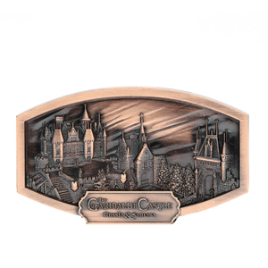 Custom 3d Building Antique Copper Souvenir Strong Refrigerator Magnets