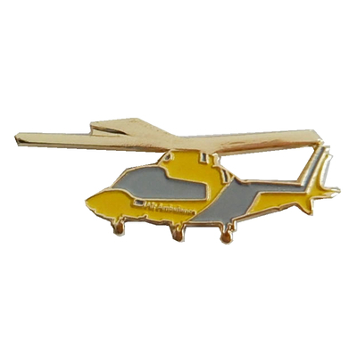Custom Air Plane Lapel Pin