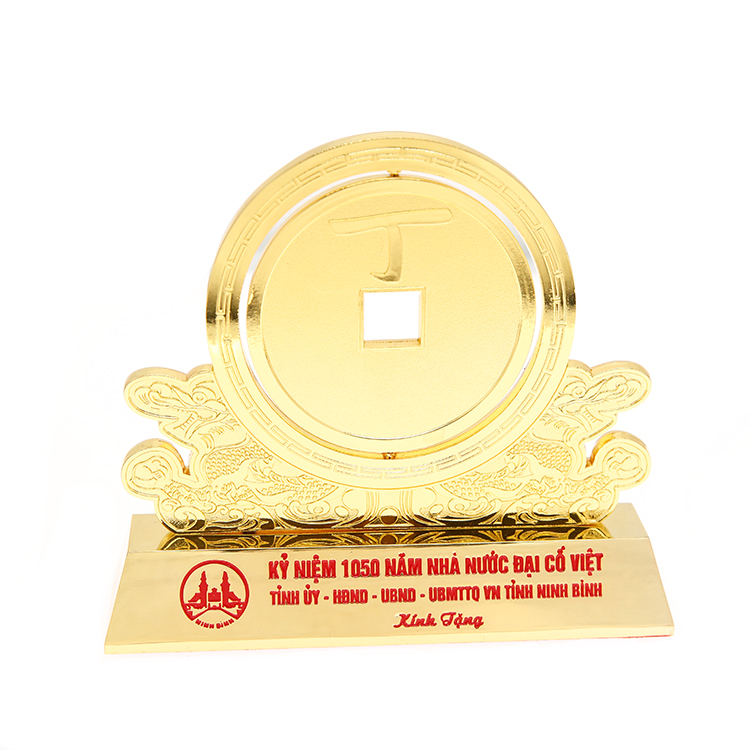 Customized Size Grammy Metal Award Plaques Floating Trophy