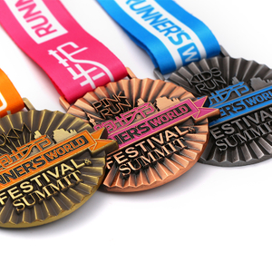 3D Custom Cheap Blank Runner`s Medal