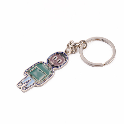 Ecofriendly Printing Character Card Holder Metal Man-shaped Pin Badge 1st Place Medal Custom Brooch Pin