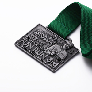 Cheap Customs Sports Running Gold Silver Bronze Running Medals in Stock