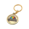 Enamel Souvenir Custom Trolley Coin Holder Metallic Keychain