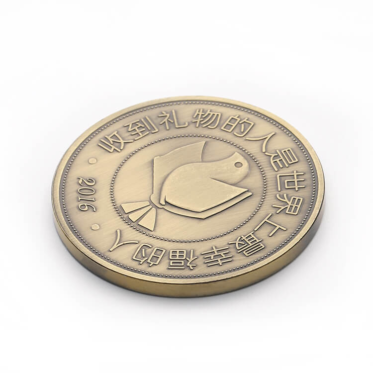 Peace Dove Copper Commemorative Coin