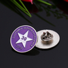 Emblem Logo Silver Security Badges Paint Volunteer Badge Gift