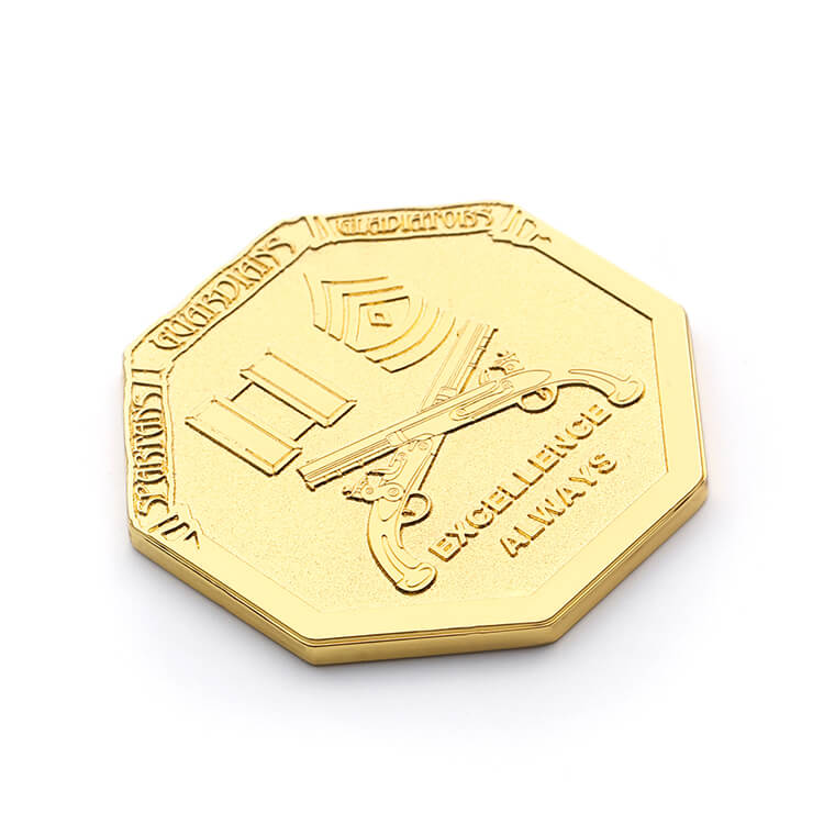 Custom Engraved Coins Style Design for Graduation Souvenirs