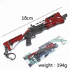 Fortnite Weapons Key Chain Guns Keychain 18- 23CM 200G