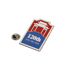 Button Material Square Personalised Zinc Uniform Name Badge