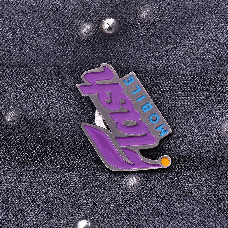 Jiabo Custom Metal Made Soft Enamel Name Tags Badge