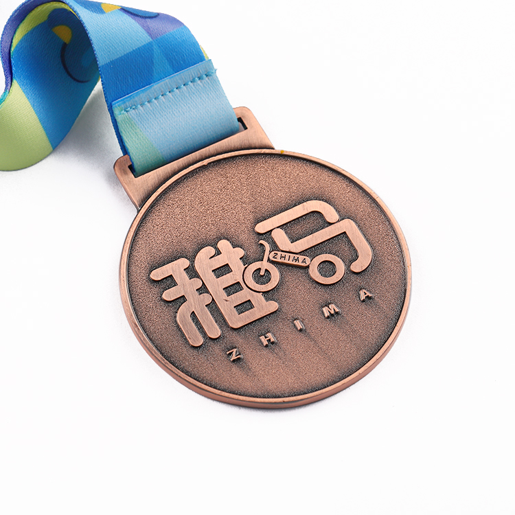 Children Champions League Bike Race Medal for Kids Sports Medals