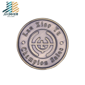 Good Luck Chinese Coins Theme Souvenir Medallion Custom Coin Bank