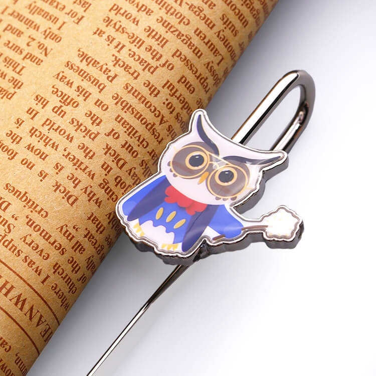 Custom Made Eagle Shape Crafts Metal Beautiful Bookmark