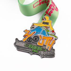 1st 2st 3st Medal 5k Chocolate Medal Race Sports Alloy Medals China