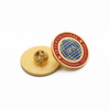 Custom Tin Promotion Button 58mm Die Cast 3d Pin Bagde