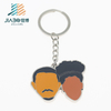 Custom US Hard Enamel Man And Wife Keychain