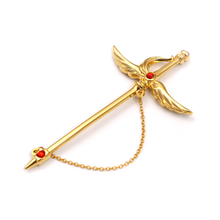Fashion Alloy Pendent Lapel Pin Custom Badge Metal Luxury