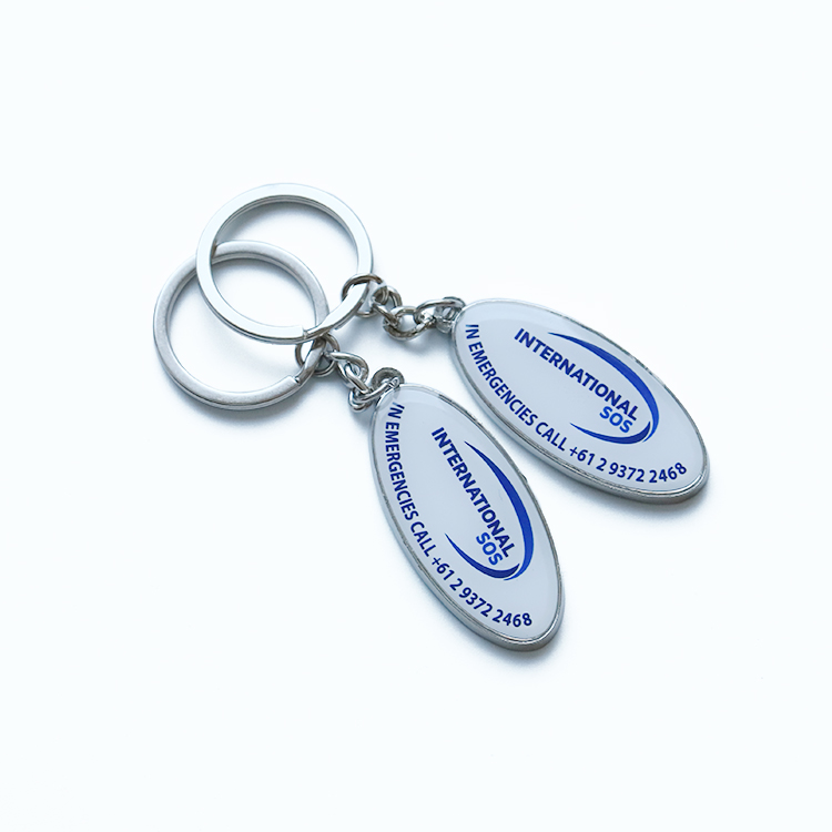 Public welfare keychain Rescue key chain security key ring