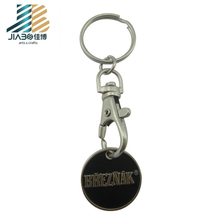 Black Letter Empty Zine Alloy Name Glow in The Dark Key Chain Badge