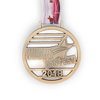 School Running Finisher Custom Antique Color Metal Medal