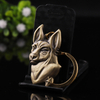 Metal Dog To Customize Wholesale Keychain Bronze