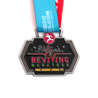 Soft Enamel Custom Cheap Blank Marathon Medal